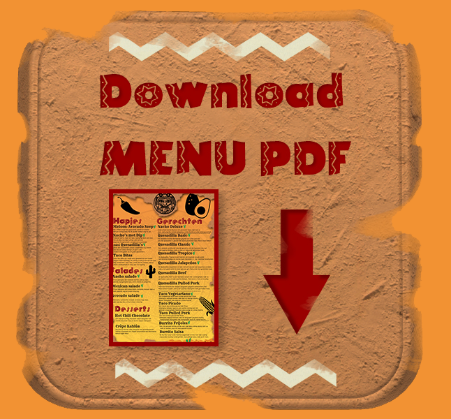 download menu in pdf
